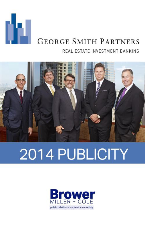 George Smith Partners 2014 Publicity