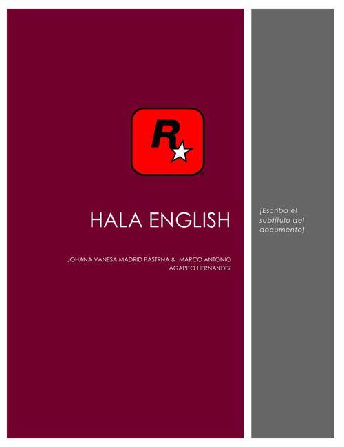 HALA ENGLISH