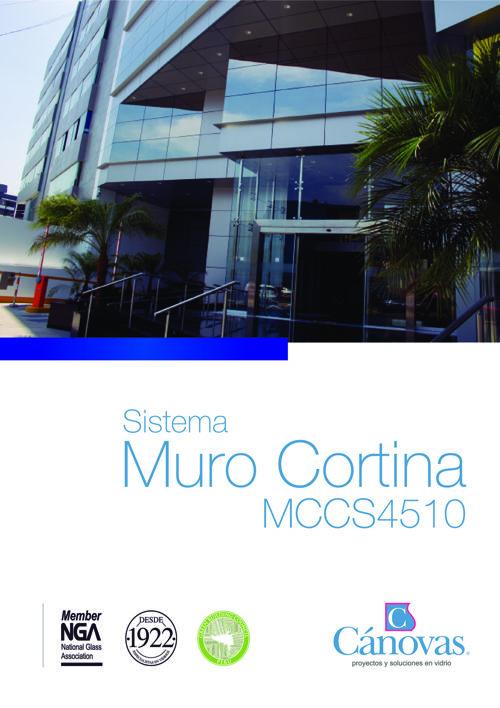 CATALOGO MURO CORTINA CANOVAS S4510