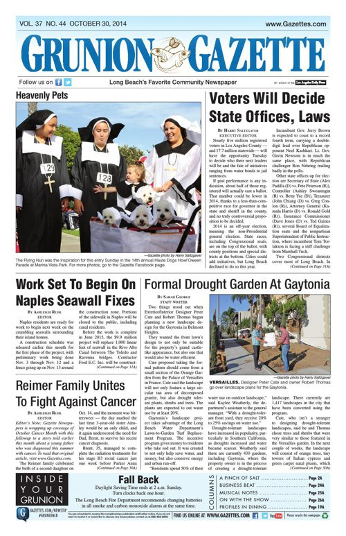 Grunion Gazette | 10-30-14