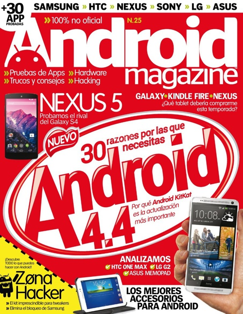 Android Magazine Spain - Issue No. 25