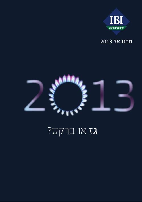 מבט אל 2013 - מחלקת המחקר של אי.בי.אי