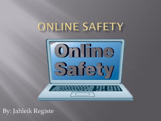 G8 Internet Safety Jahleik Registe
