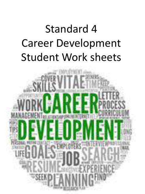 std 4_Career_WS