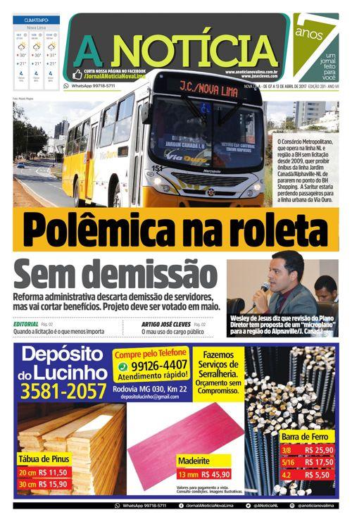 Jornal A Notícia - Edição 281