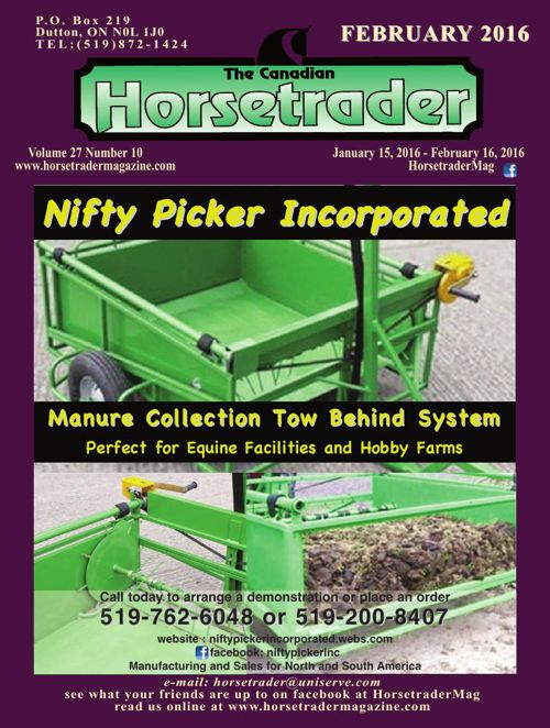 Horse trader Magazine Feb 2016