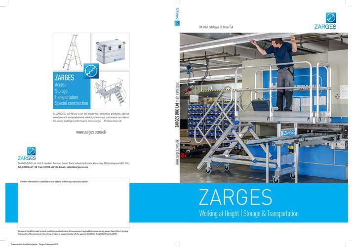 Zarges UK main catalogue