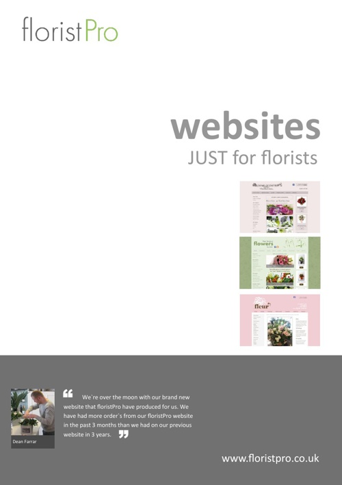 floristPro Brochure