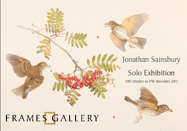 Jonathan Sainsbury Solo Exhibition 2012