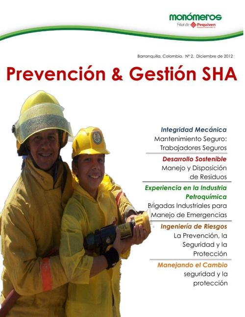 Revista Prevención y Gestión SHA. Edición No. 2