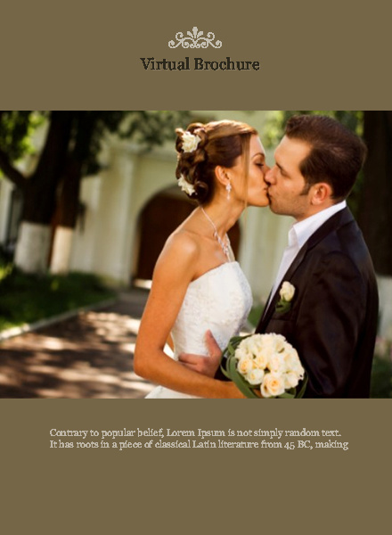 Virtual Florist Brochure