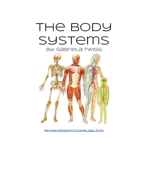 The Human Body Systems By: Gabriela Twigg