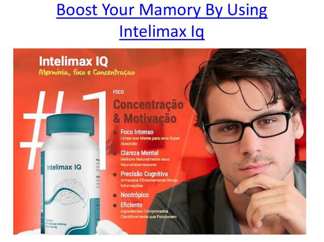 Boost Your Mamory By Using Intelimax Iq