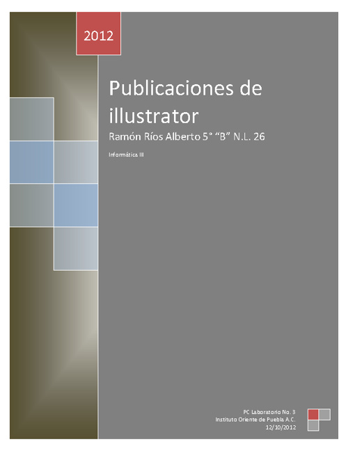 Publicaciones de Illustrator