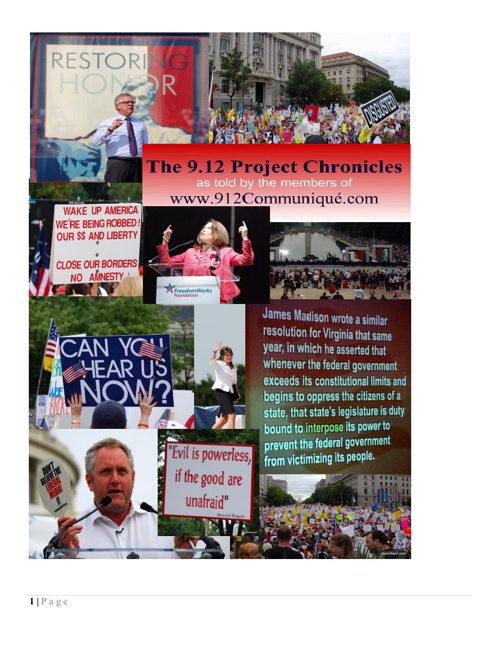 The912Project Chronicles Flip Book