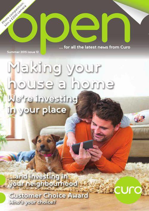 Open magazine issue 12 - summer 2015