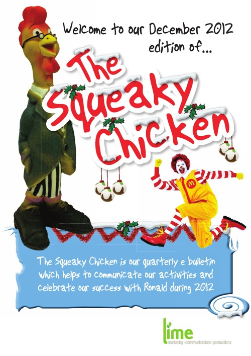 The Squeaky Chicken December 2012