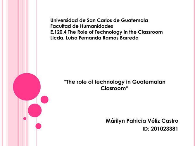 Hw Technology in Education