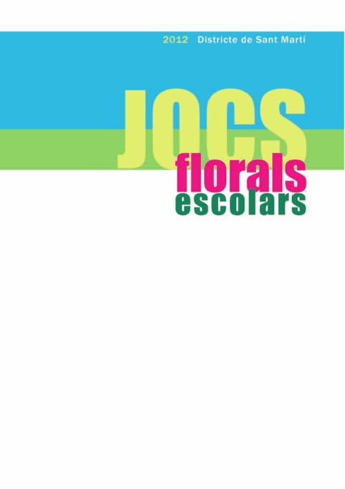 Jocs Florals Escolars 2011
