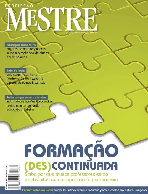 Profissão Mestre - Outubro 2011