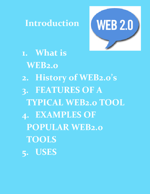 Copy of Copy of Copy of Web2.0 Tools