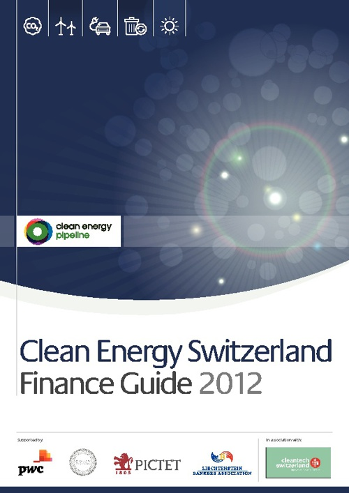 Clean Energy Switzerland Finance Guide 2012