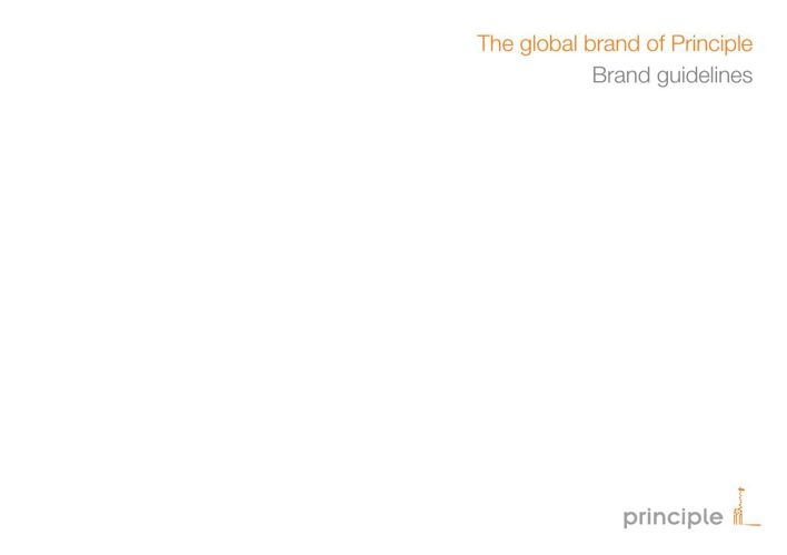 Principle Brand Guidelines