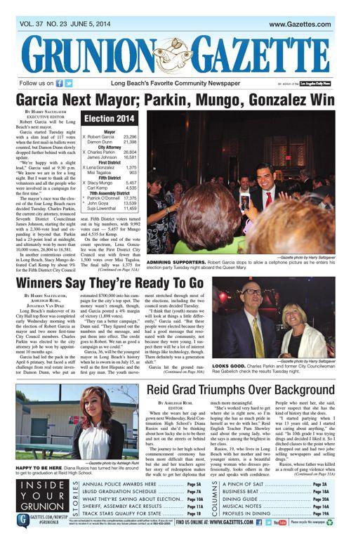 Grunion Gazette | June 5, 2014