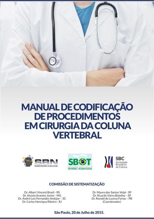 Manual de Codificação de Procedimentos em Cirurgia da Coluna