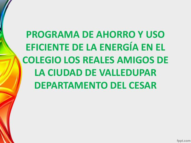 Programa de Ahorro y Uso eficiente de la Energia