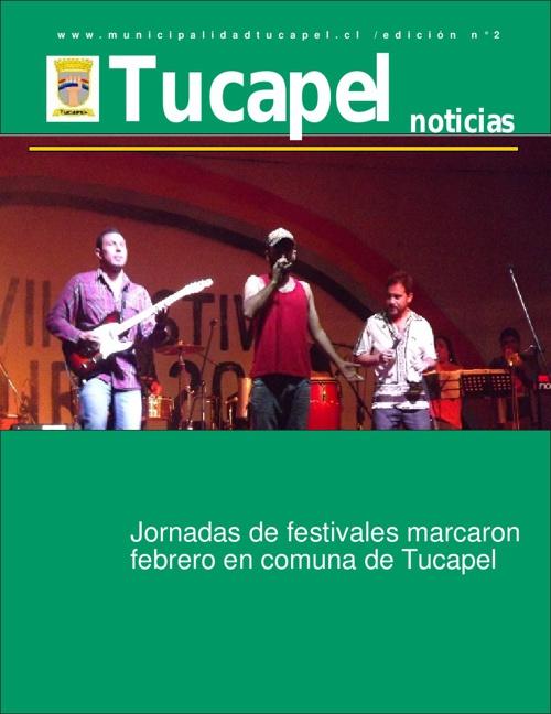 Revista Tucapel, edición enero 2013