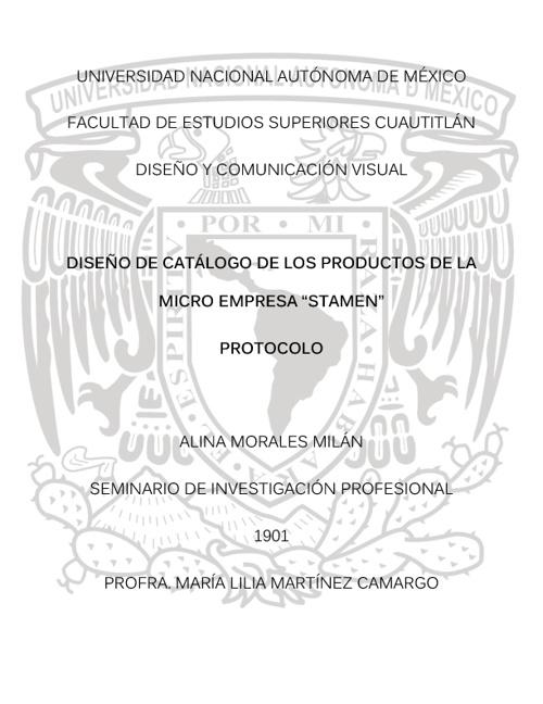 Protocolo Alina Morales