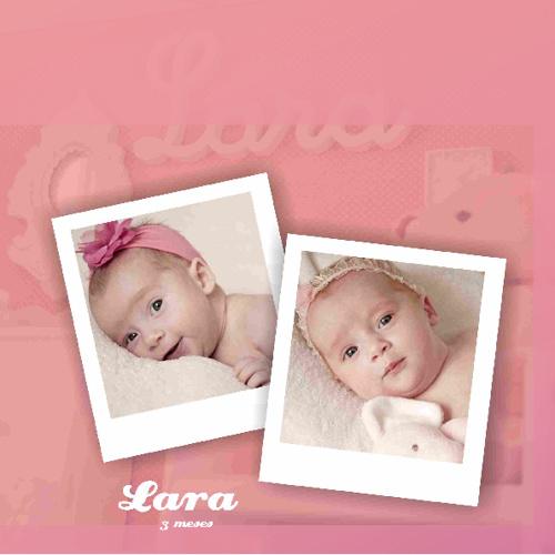 Álbum Lara e Ana Júlia, junho 2012
