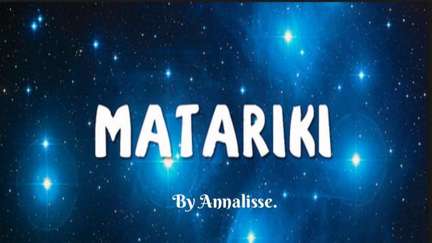 Annalisse Matariki Writing