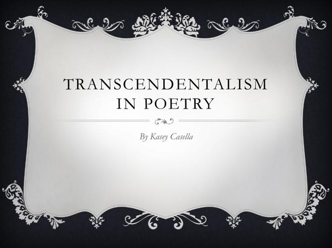 Transcendentalism Movement