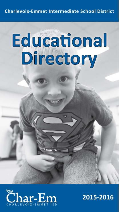 Char-Em ISD Educational Directory 2015-2016