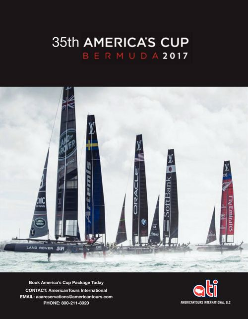 America's Cup Agent Flyer