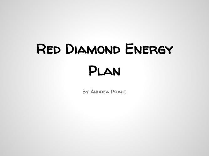 Red Diamond Energy Plan
