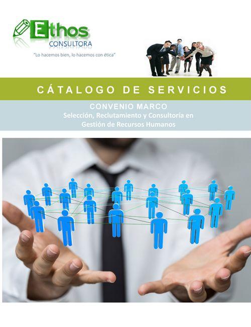 catálogo servicios convenio marco 2017