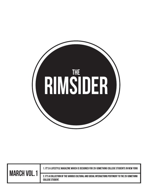 The RIMSIDER