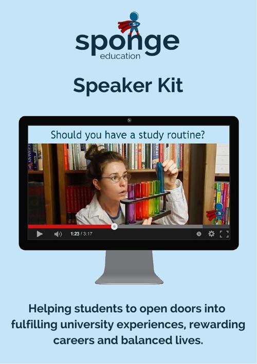 Speaking kit for students