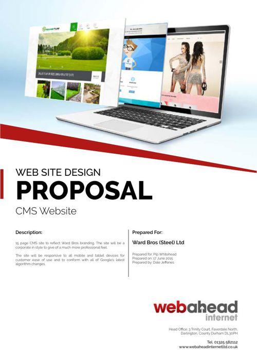 Ward Bros Steel Site Proposal