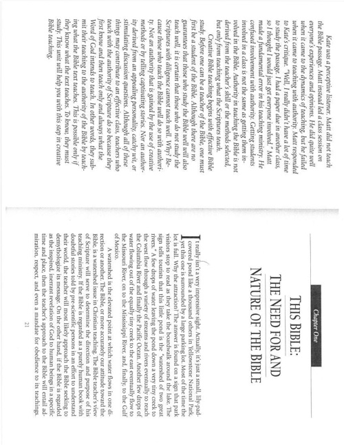 Biblical Literacy, Timothy Beal Chapters I & II (Effective Bible