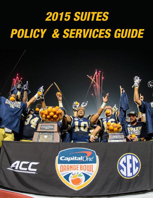 2015 Suites Policy Manual