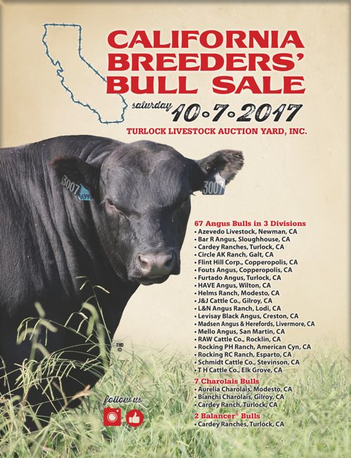 Turlock Livestock Auction Yard's 2017 CBBS