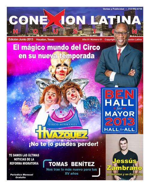 Conexión Latina Houston News Junio2013
