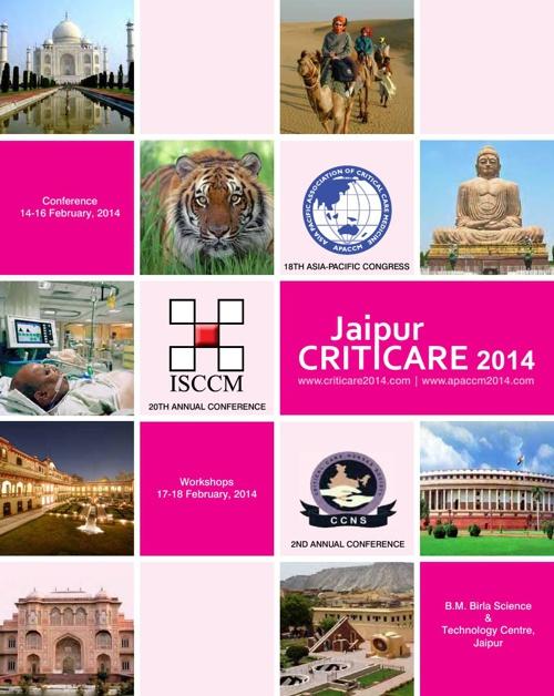 CRITICARE 2014, JAIPUR