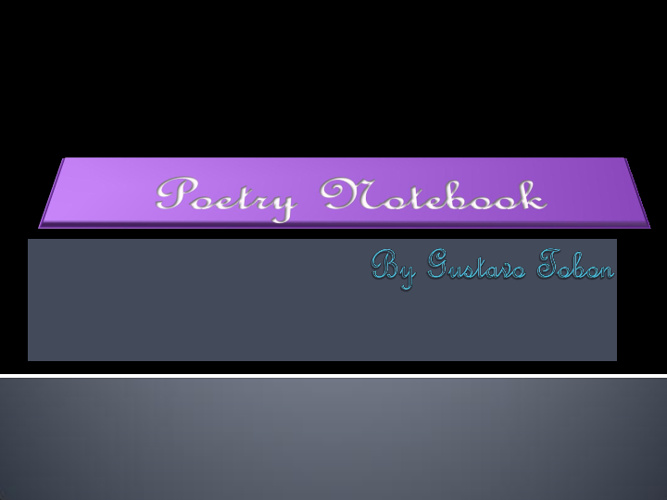 Poety Project