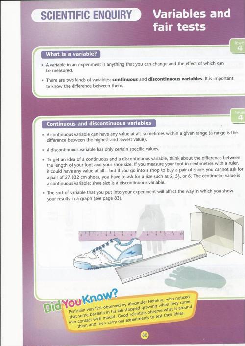 Scientific enquiery Guide