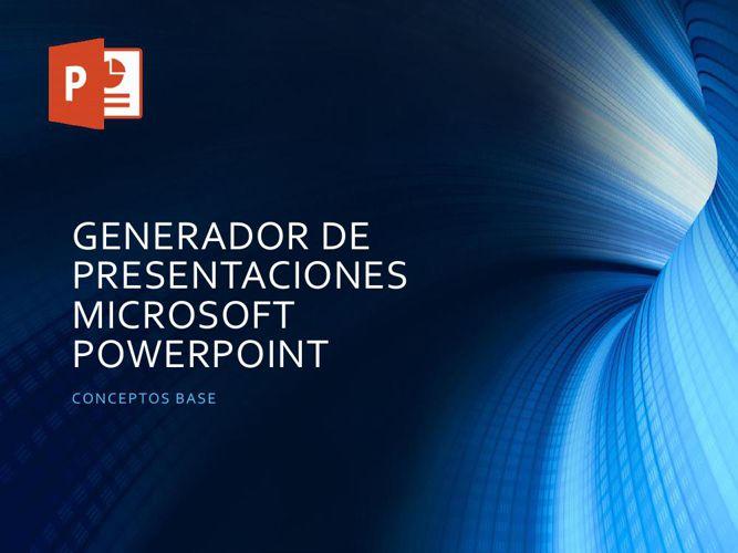 conceptos base de powerpoint